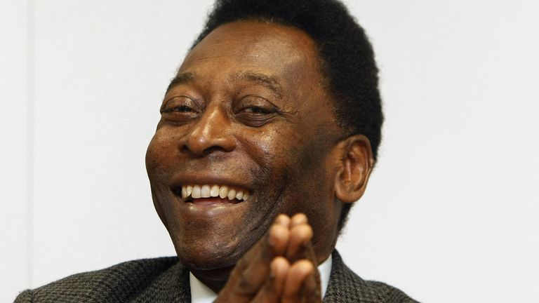 Pele says he is 'recovering well' after surgery