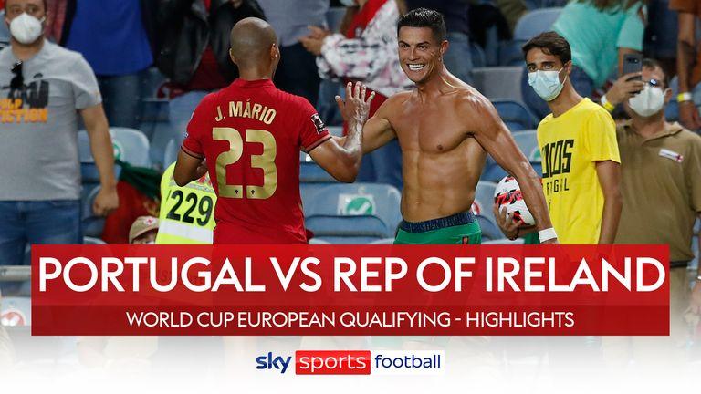 Portugal 2-1 Rep Ireland