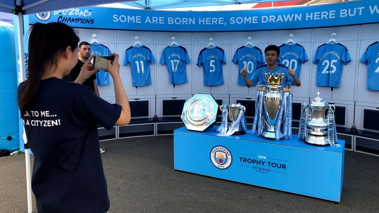 There could be more tournaments like the Premier League Asia Trophy - the last of which took place in 2019