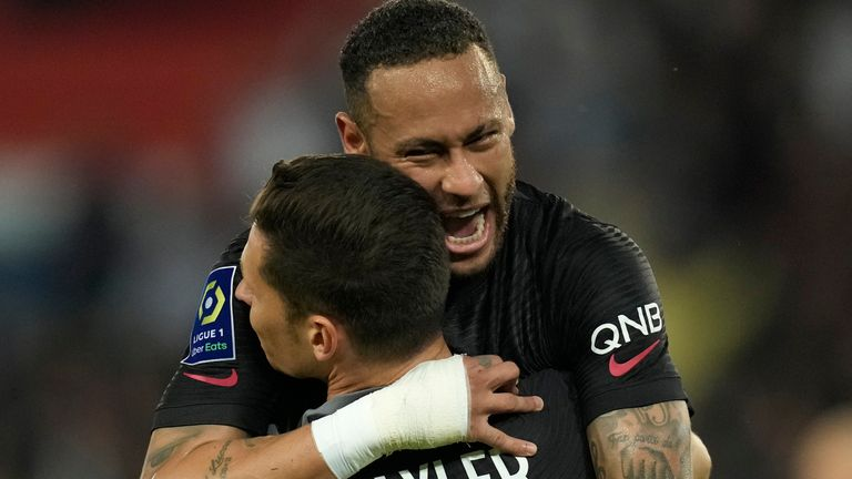 PSG saw off Montpellier on Saturday evening