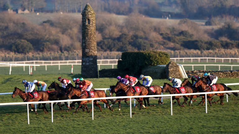 Punchestown is hosting a rare flat meeting on Tuesday
