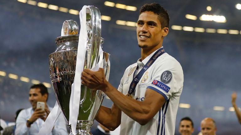 Raphaël Varane has won the Champions League four times at Real Madrid