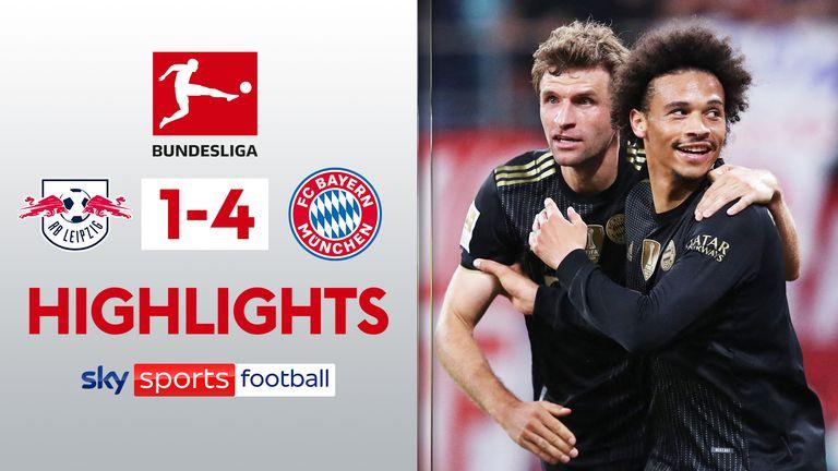 RB Leipzig 1-4 Bayern Munich