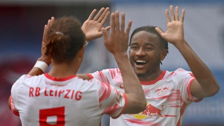 RB Leipzig thrashed Hertha Berlin in the Bundesliga