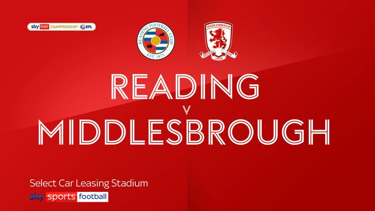 reading v middlesbrough badge