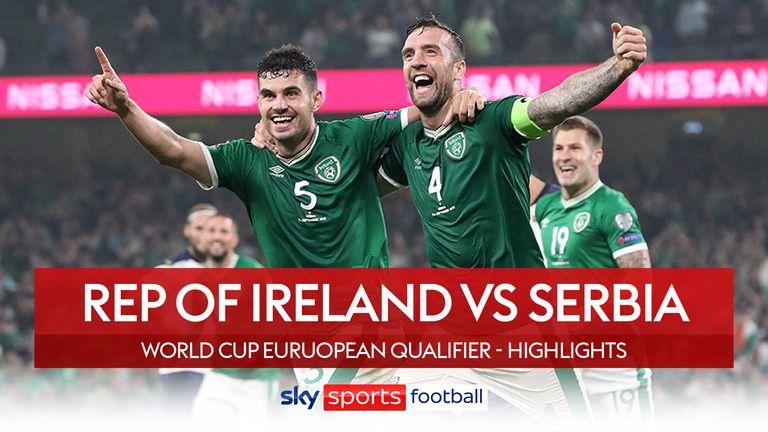 Rep of Ireland 1-1 Serbia
