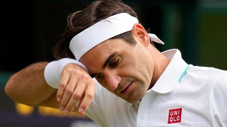 Roger Federer anunció en agosto que se sometería a una tercera cirugía de rodilla.