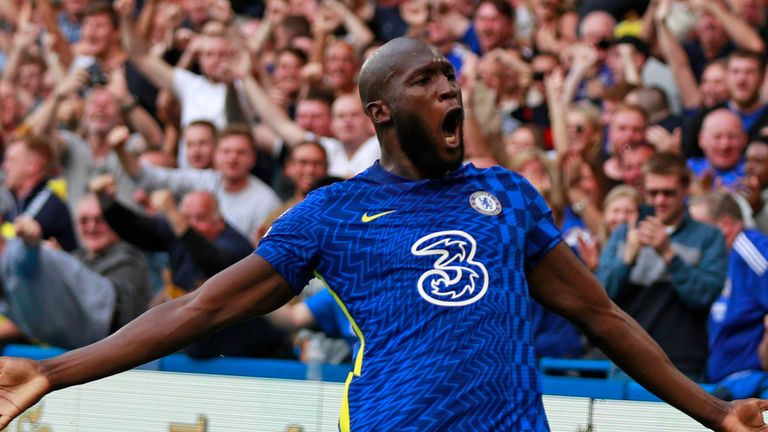 Romelu Lukaku has scored four goals in as many games since he returned to Chelsea from Inter Milan