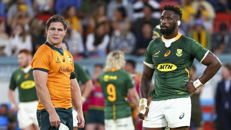 South Africa were dispatched 30-17 by Australia in their Rugby Championship clash last week