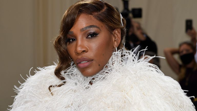 Serena Williams was among a number of stars present at the Gala