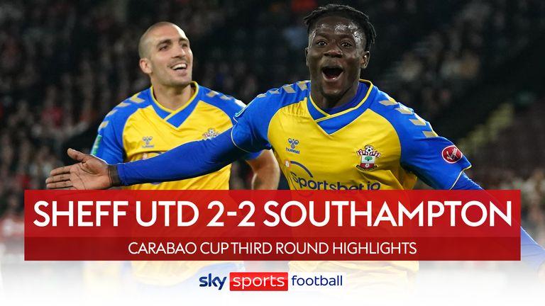 Sheff Utd 2-2 southampton