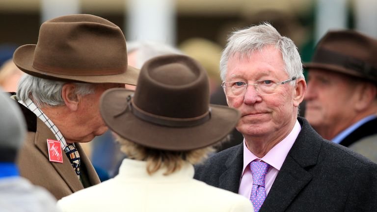 Sir Alex Ferguson, who owns a number of horses with trainer Paul Nicholls, messaged Elliott during Cheltenham this year
