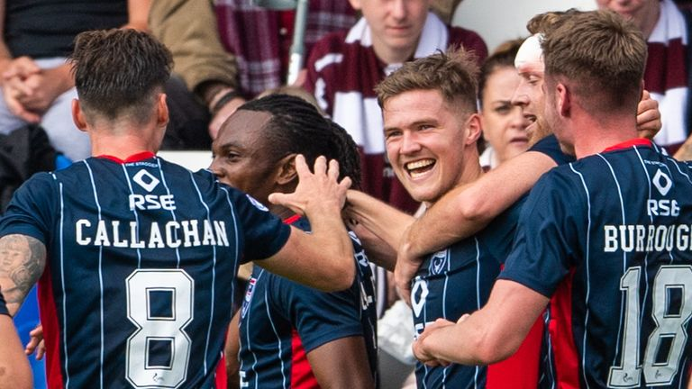 Scottish Premiership Team of the Week: Celtic and Rangers absent as Hearts, Dundee United and St Mirren feature |  Football news