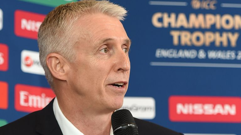 Steve Elworthy has left his role as the England and Wales Cricket Board's managing director for events and special projects