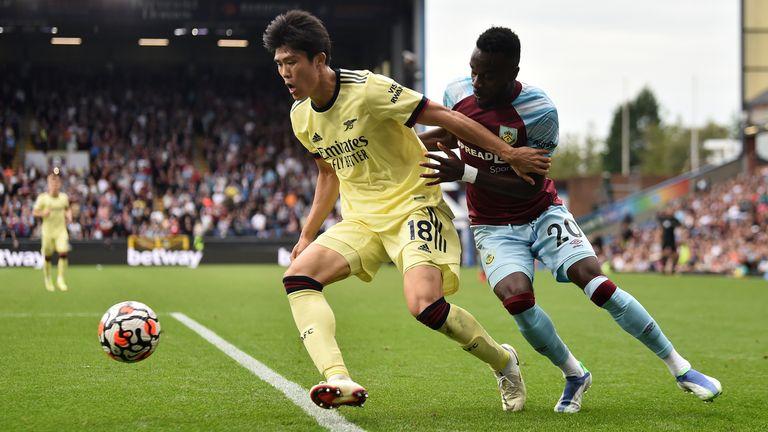 Takehiro Tomiyasu has impressed for Arsenal so far