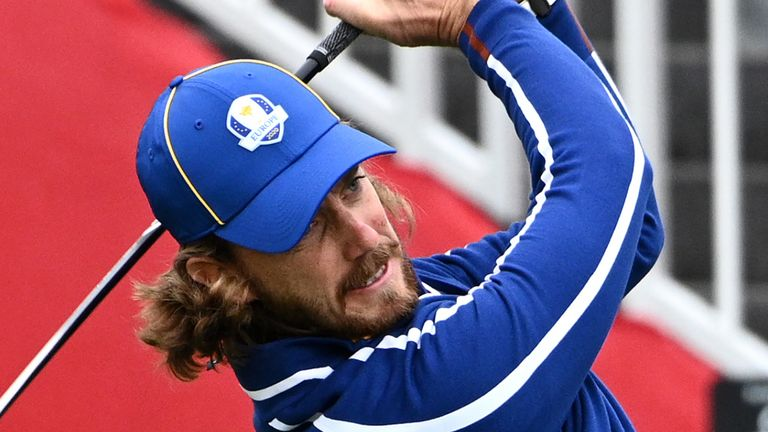 Tommy Fleetwood is making his second Ryder Cup appearance and first on American soil