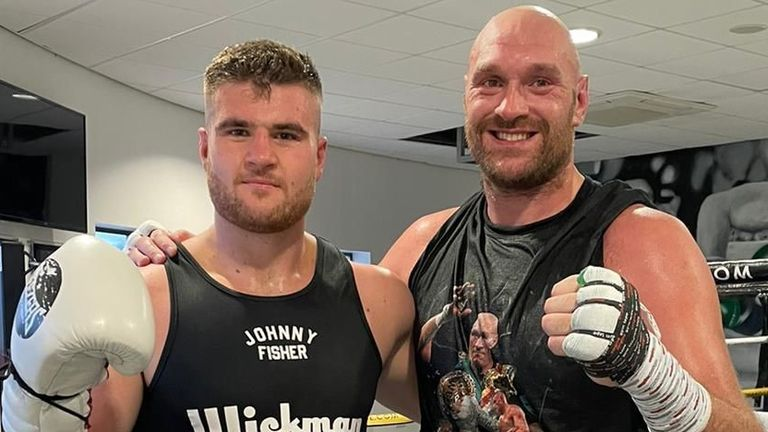 Tyson Fury and Johnny Fisher