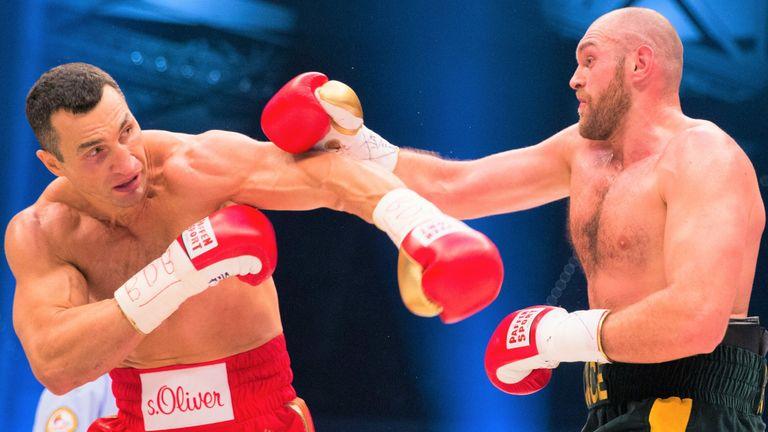 Tyson Fury, Wladimir Klitschko