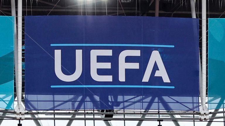 UEFA logo (AP)