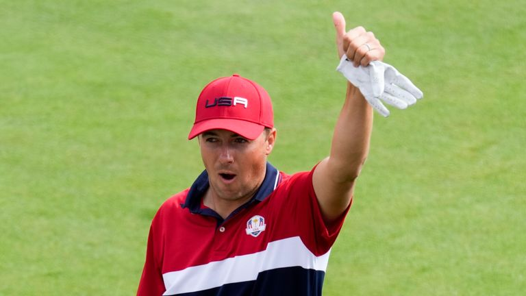 Ryder Cup 2020: Jordan Spieth aims for repeat in 2023 win as Bryson DeChambeau greets