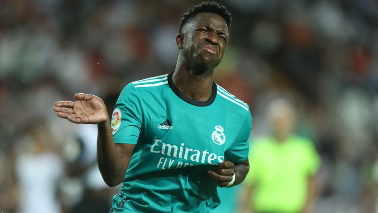 Vinicius Jr scored the equaliser for Real Madrid in the 86th minute before Karim Benzema's winner