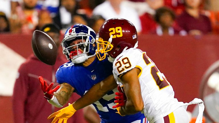 Watch highlights from the Week 2 matchup between the New York Giants and the Washington Football Team.