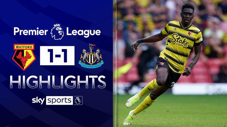 Watford v Newcastle highlights