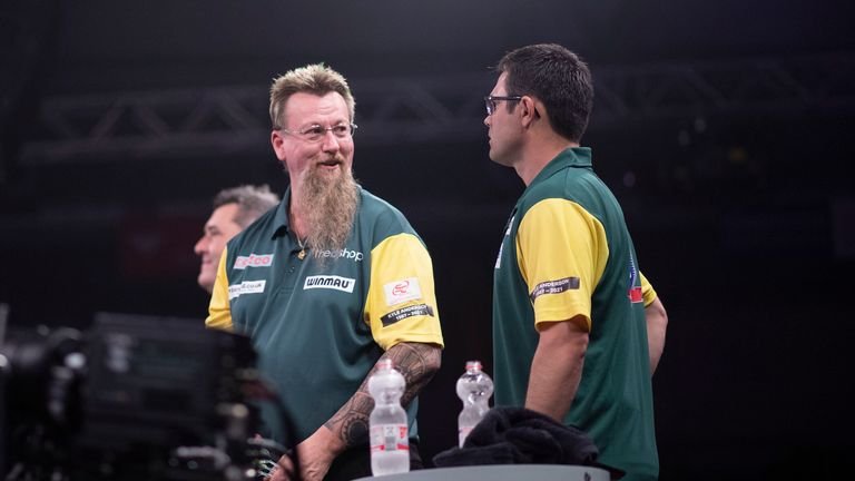 Whitlock and Heta impressed on an emotional night in Germany (Kais Bodensieck/PDC Europe)