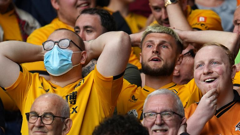 Wolves supporters (PA)