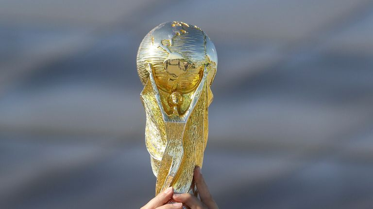 The World Cup is currently held once every four years but FIFA are looking at options to make it biennial