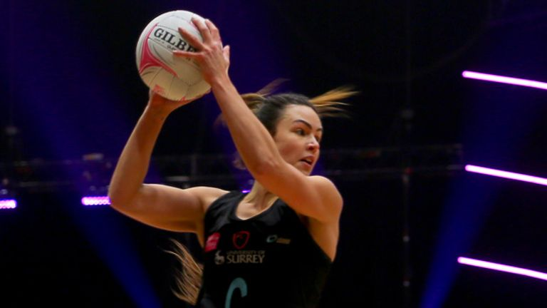 Yasmin Parsons will be returning to Surrey Storm for a seventh season (Image credit - Ben Lumley)