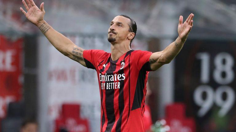 Zlatan Ibrahimovic fête son retour