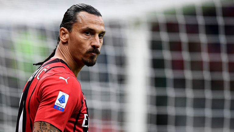 Zlatan Ibrahimovic had returned from four months out injured on Sunday, but will miss the Liverpool tie