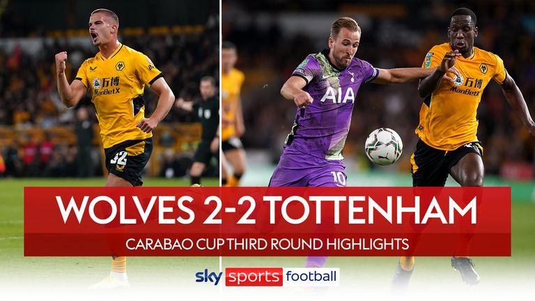 Wolves 2-2 Tottenham