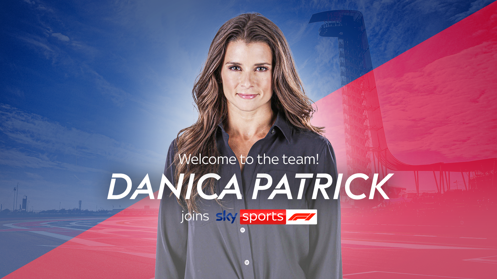 Danica Patrick joins Sky Sports F1 team for United States GP