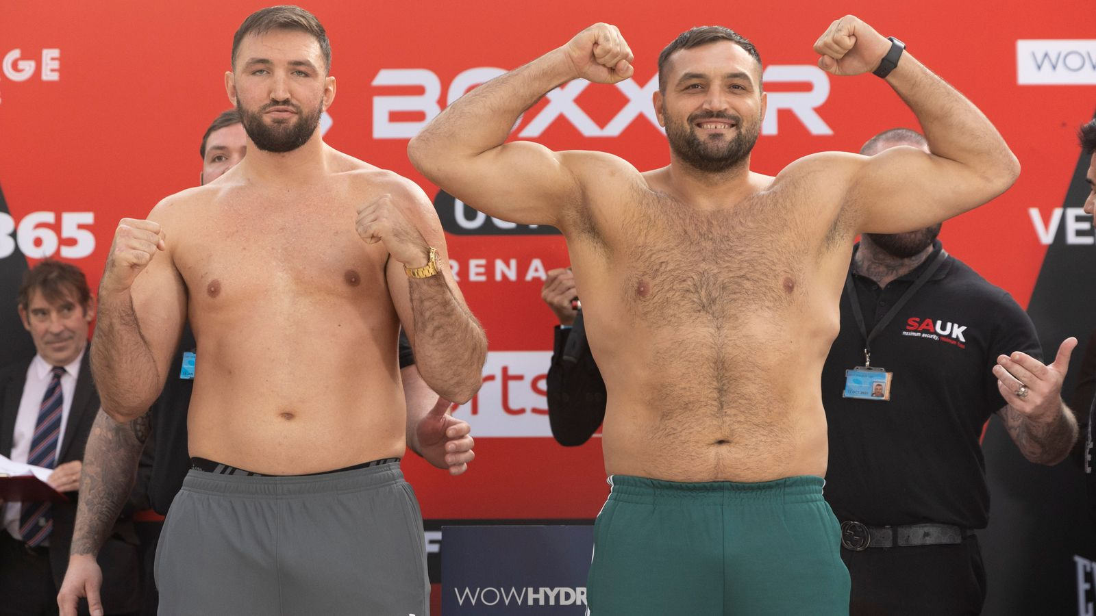 Hughie Fury to fight Christian Hammer in a heavyweight battle - watch a live stream here