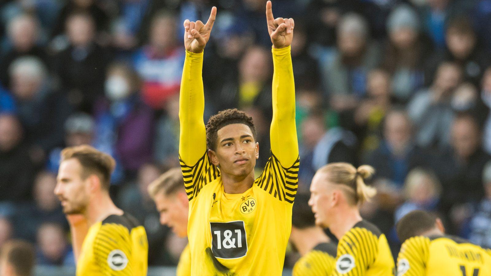 Euro round-up: Jude Bellingham scores wonder goal in Dortmund win, Bayern also victorious