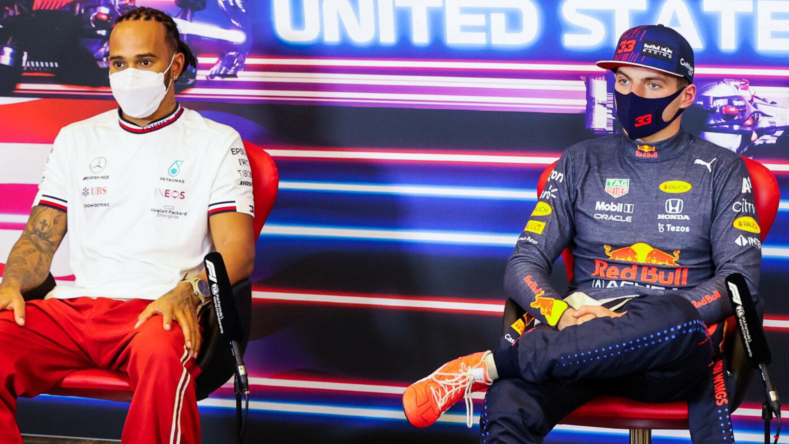 United States GP: Max Verstappen and Lewis Hamilton back on front row for F1's big Austin race day