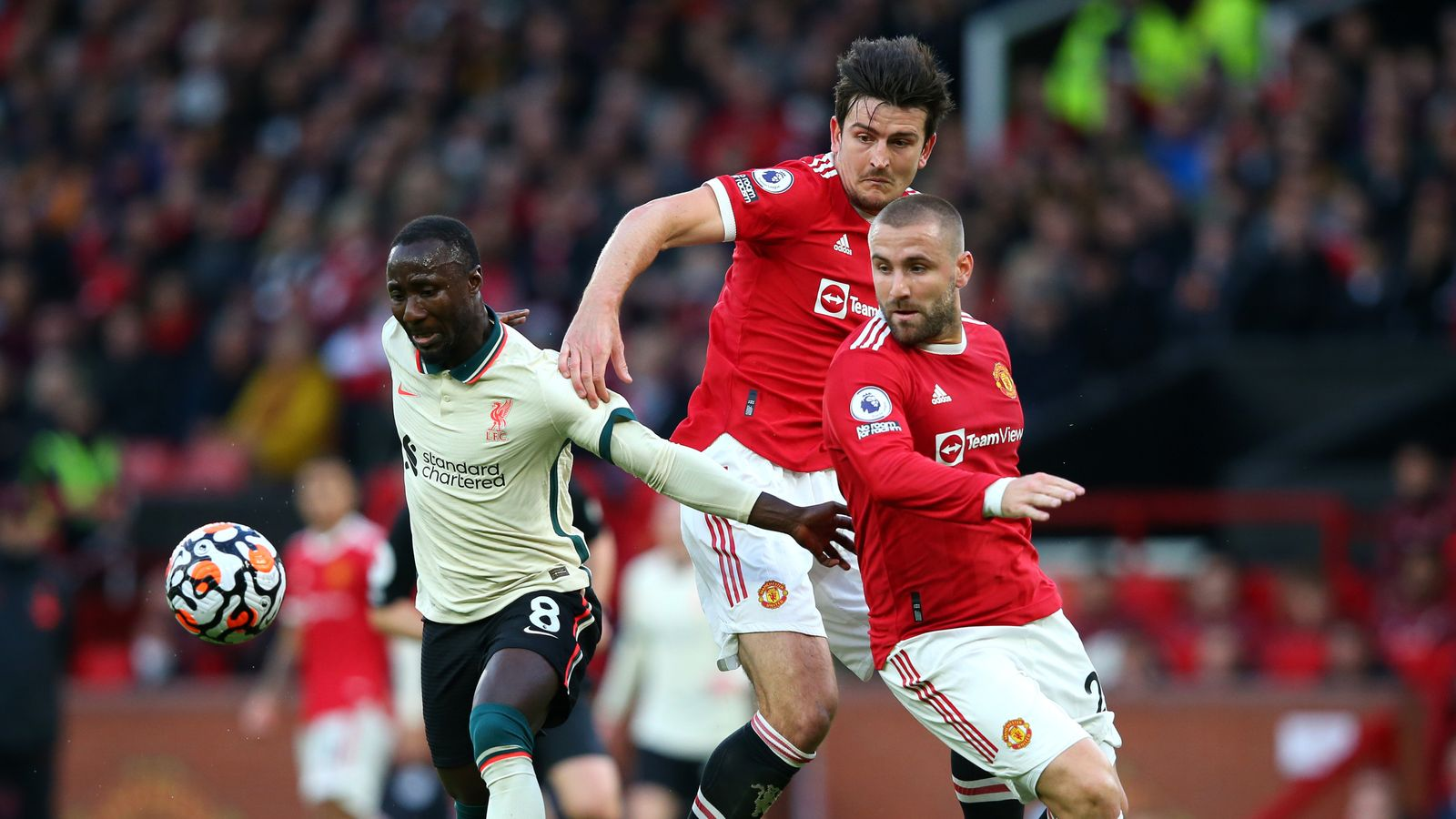 Manchester United 0-5 Liverpool: Player ratings as Naby Keita and Mohamed Salah star amid gifts from Harry Maguire, Luke Shaw and co