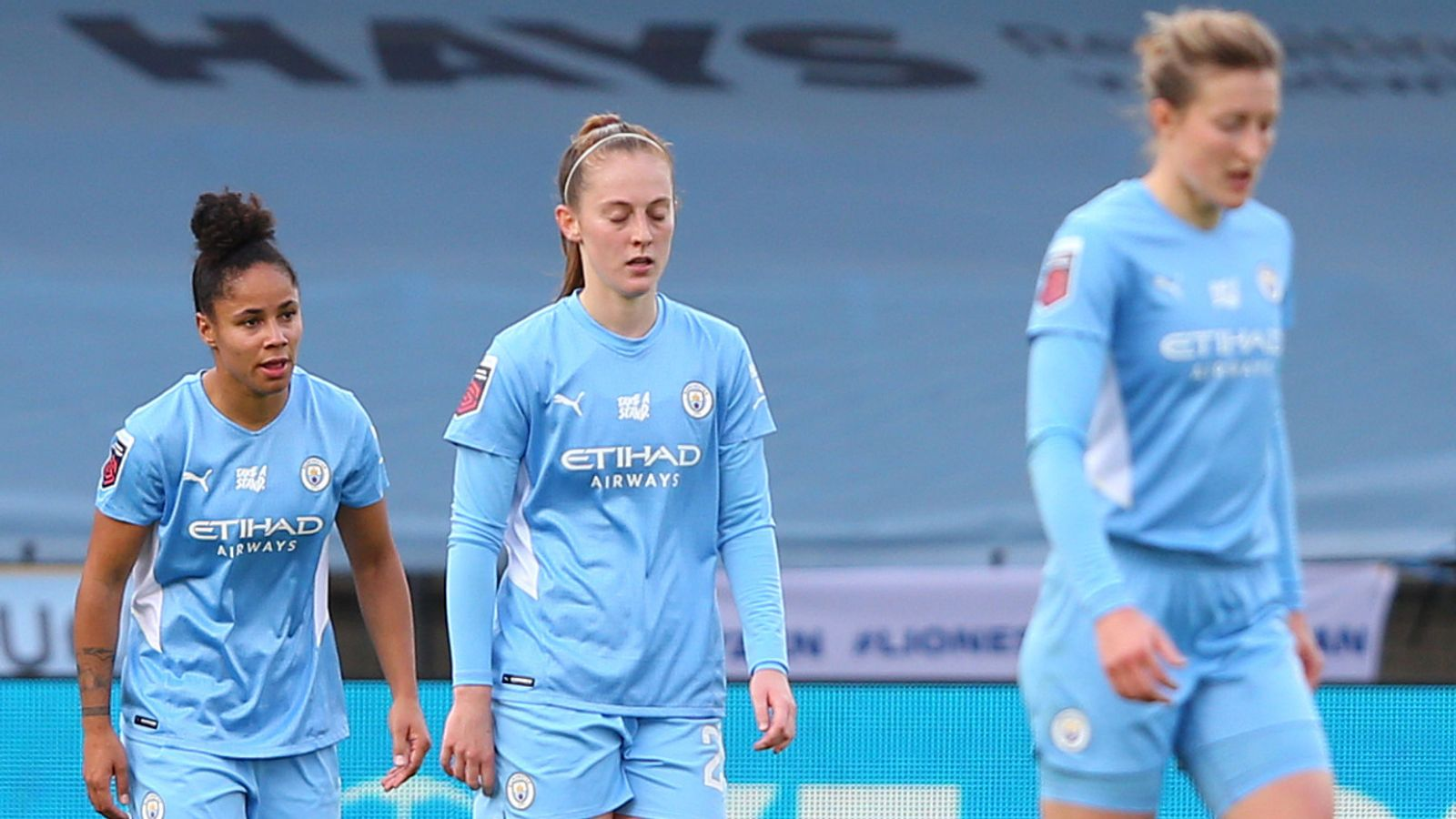 What is going on with Manchester City Women this season in the Barclays FA Women's Super League and beyond?