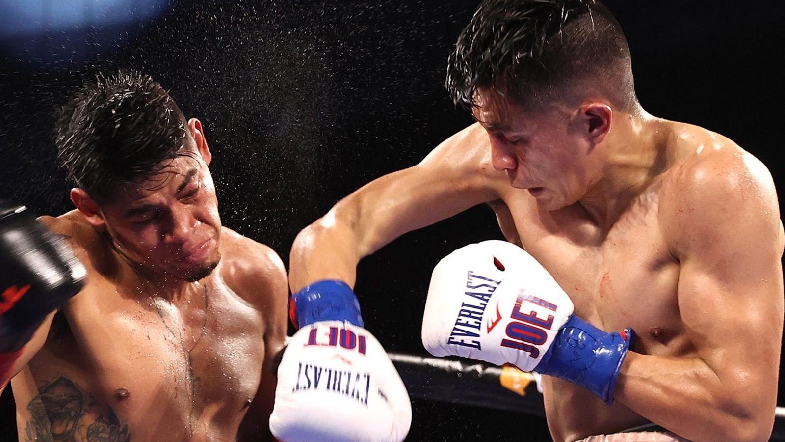 Emanuel Navarrete outlasts Joet Gonzalez to retain world featherweight title by unanimous decision