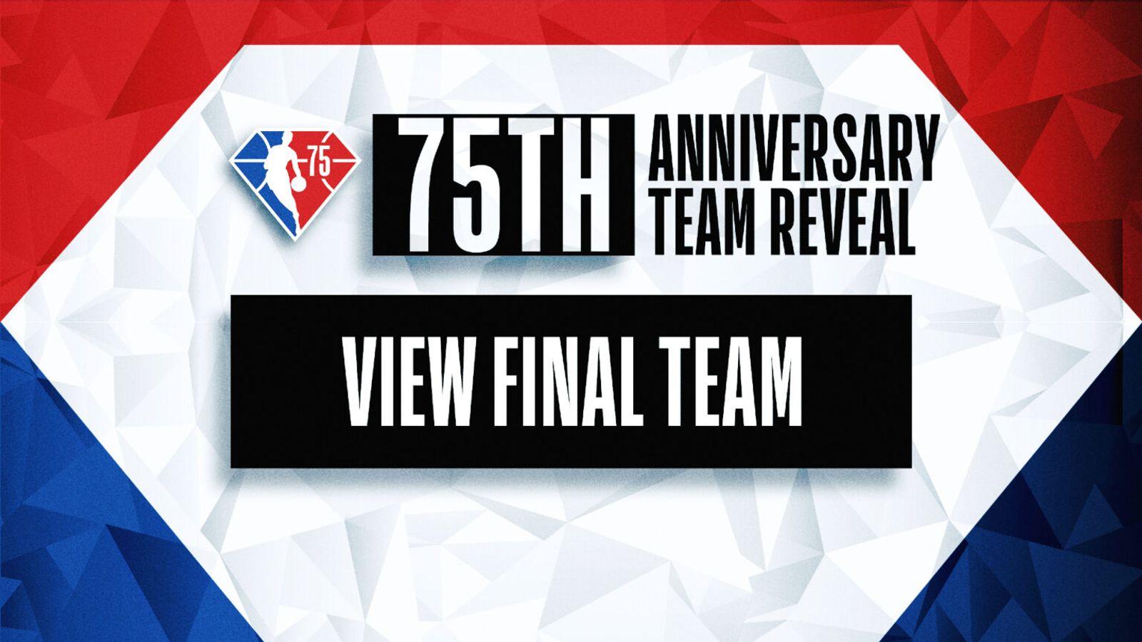 NBA 75th Anniversary Team announced