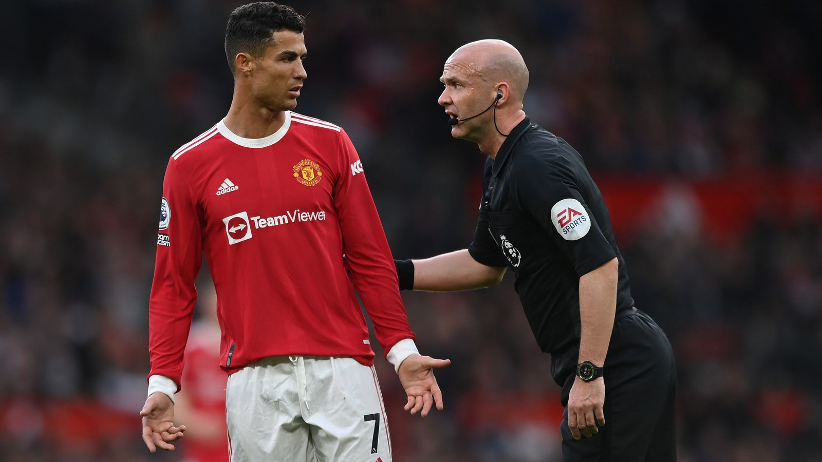 Ref Watch: Manchester United's Cristiano Ronaldo lucky not to suffer same fate as Paul Pogba, says Dermot Gallagher