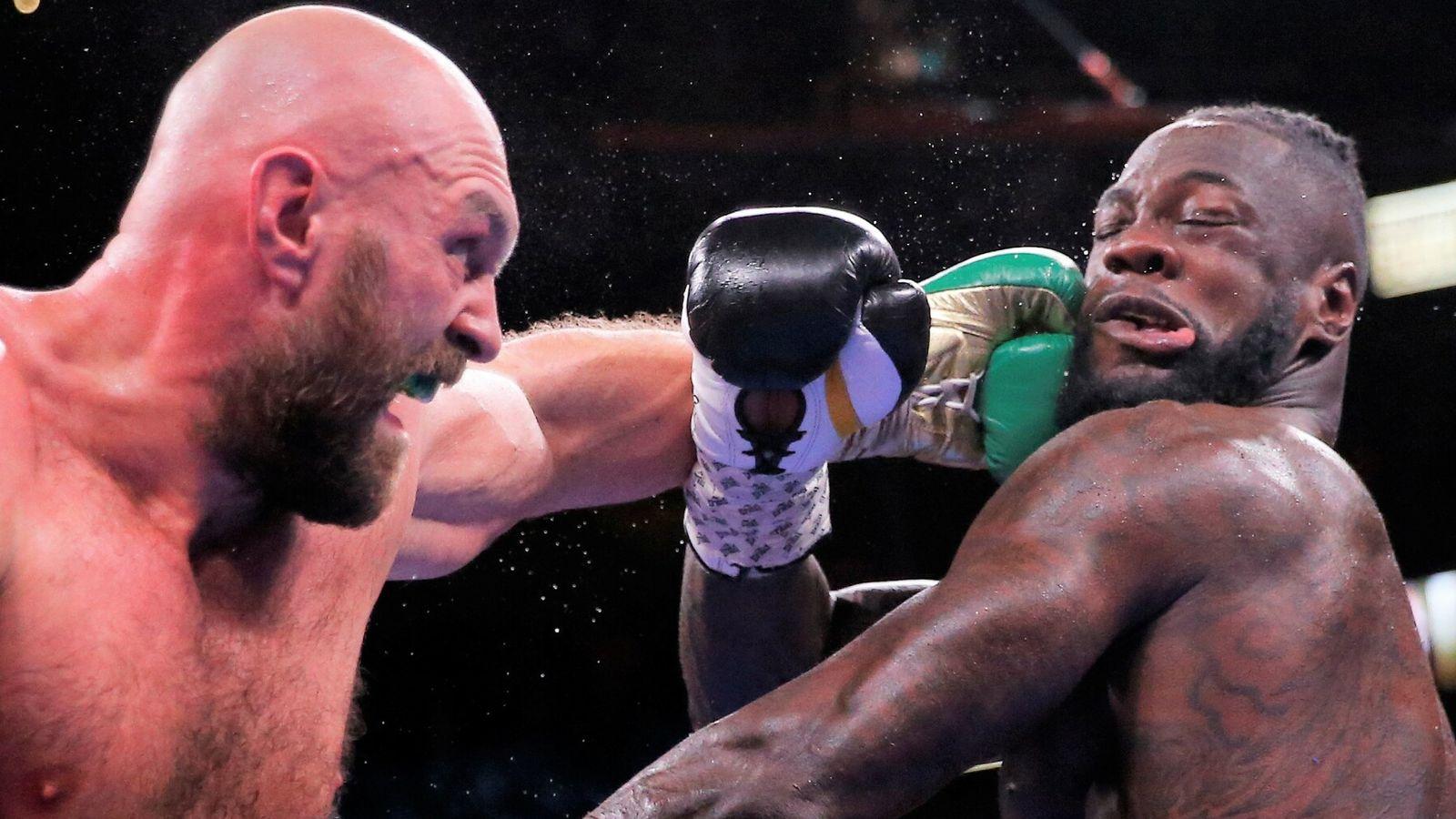 Fury finally crushes Wilder in Las Vegas thriller thumbnail
