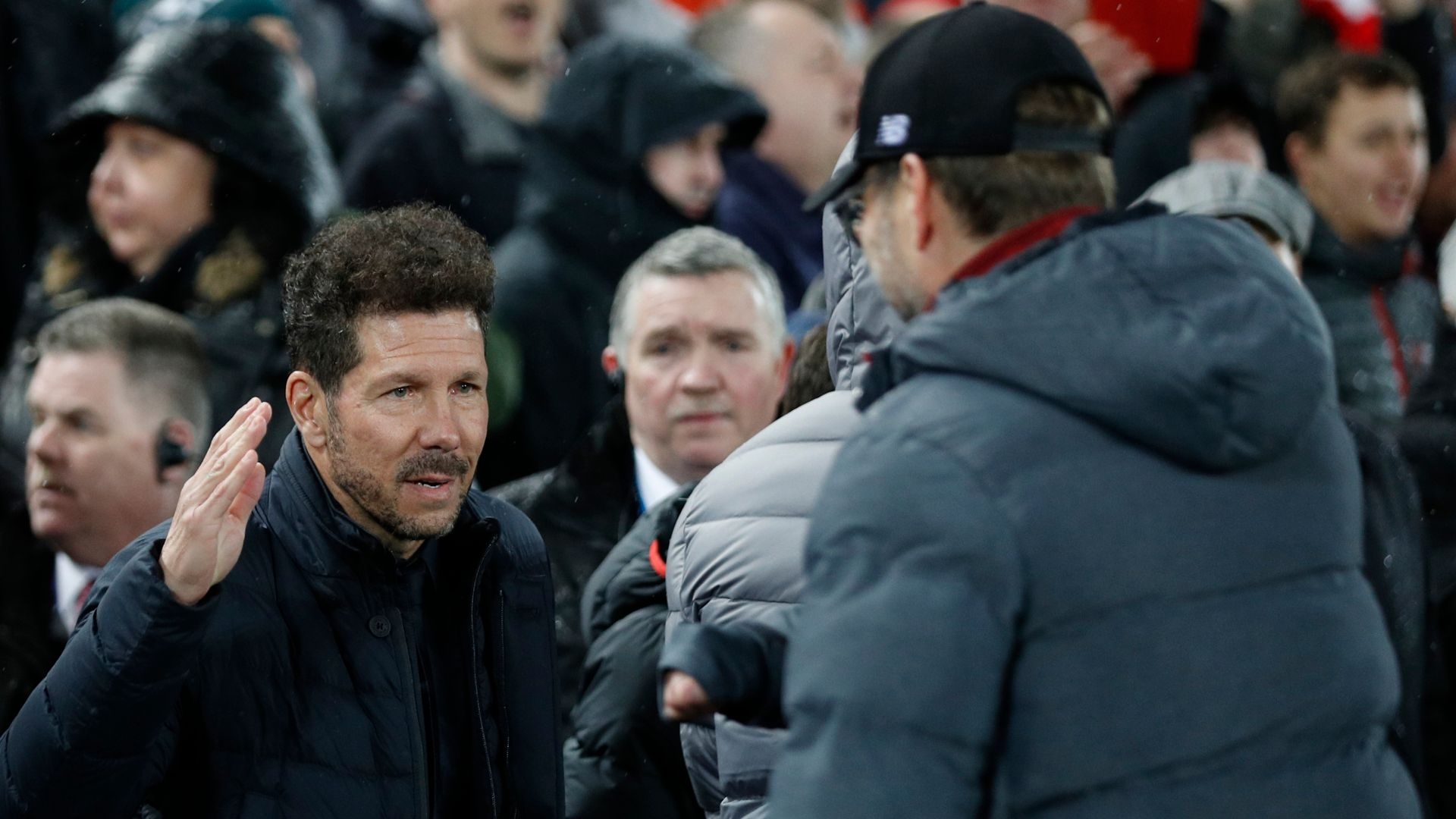 Klopp: I respect Simeone, just don't like his style of play