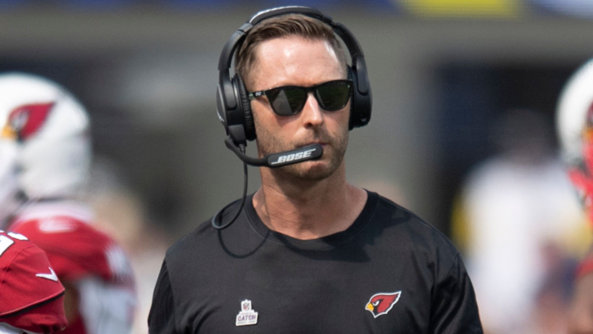 Cardinals' coach Kingsbury tests positive for Covid-19