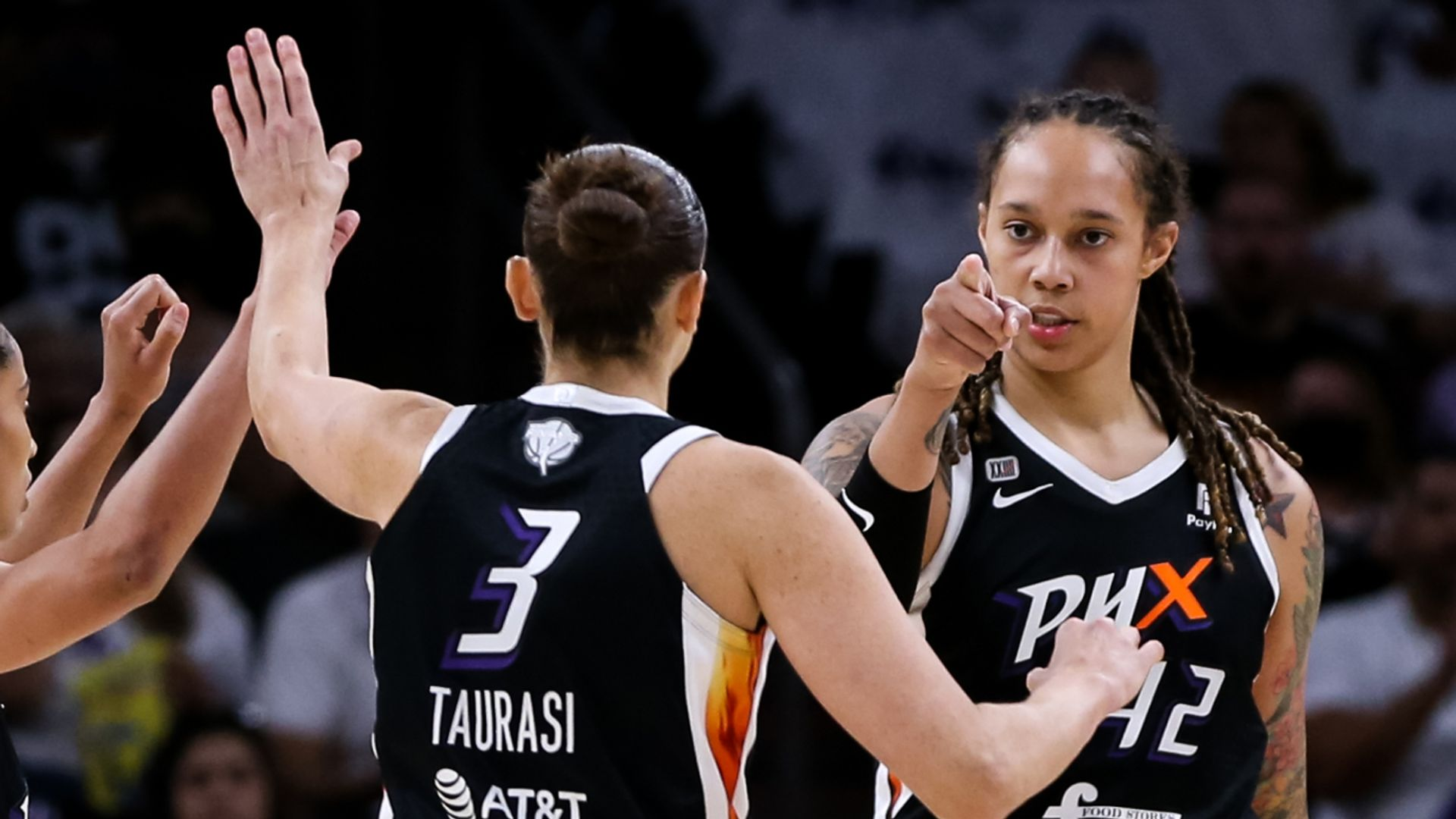 Griner and Taurasi take over to even Finals series