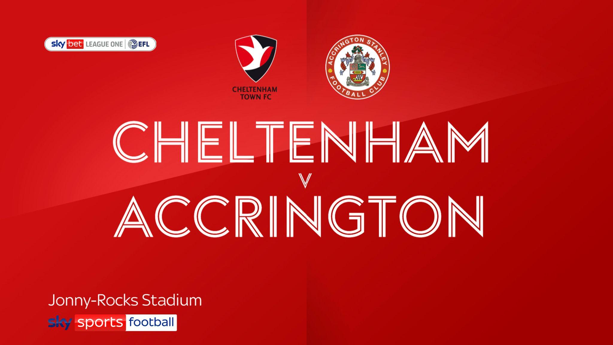 Cheltenham 1-0 Accrington: Kyle Vassell's first league goal ends three-game losing run