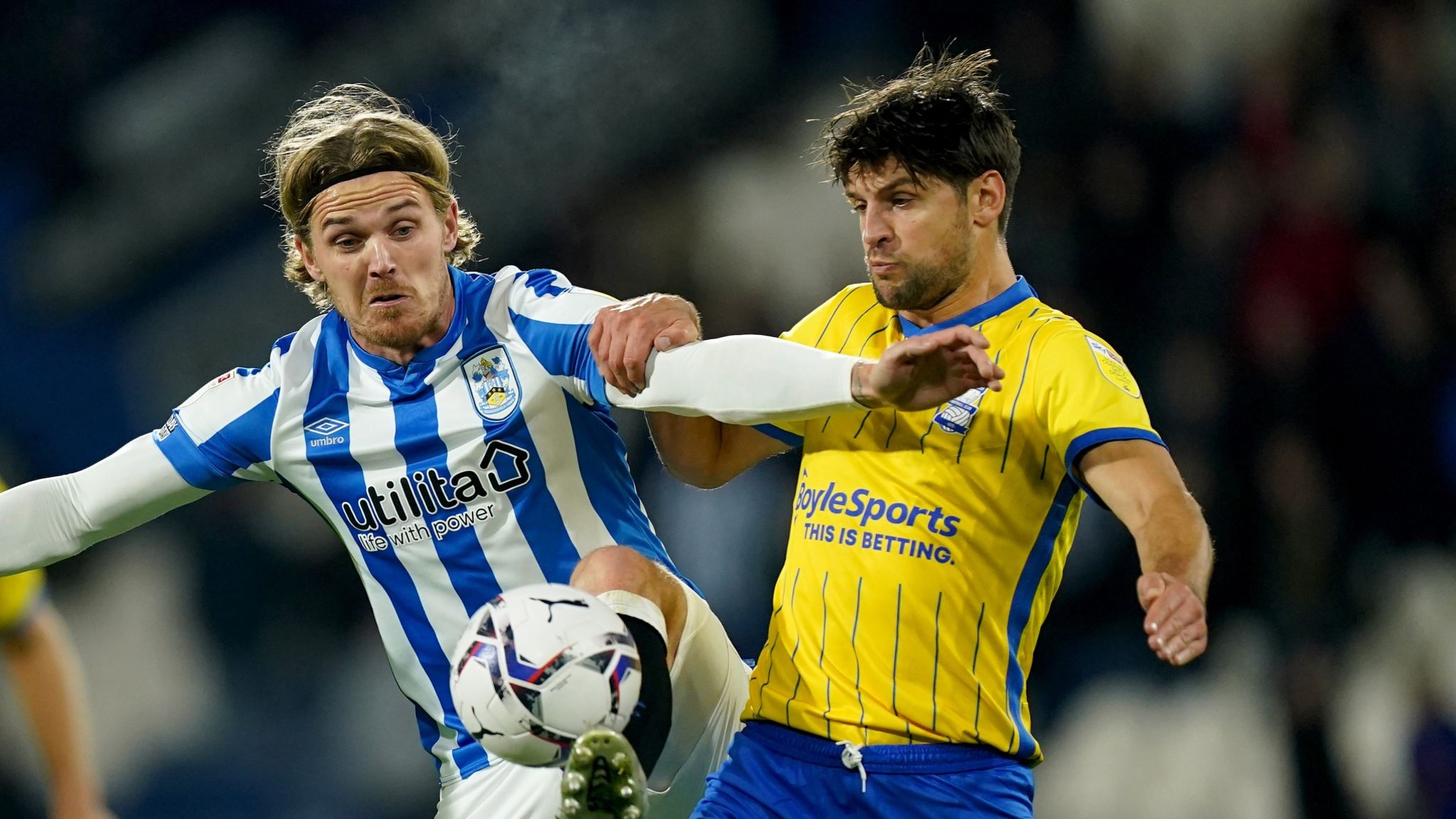Huddersfield 0-0 Birmingham: Goalless at the John Smith's Stadium