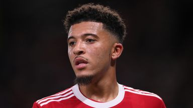 Image from Jadon Sancho at Manchester United: Ole Gunnar Solskjaer's failure to get him playing exposes flaws